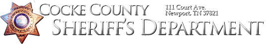 Cocke County Sheriff's Department Logo